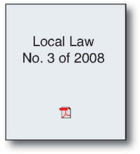 Local Law #3.